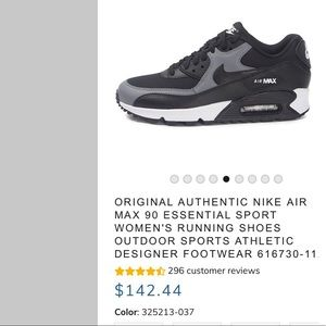 Nike Air Max 90 Essential Sport black/grey/white